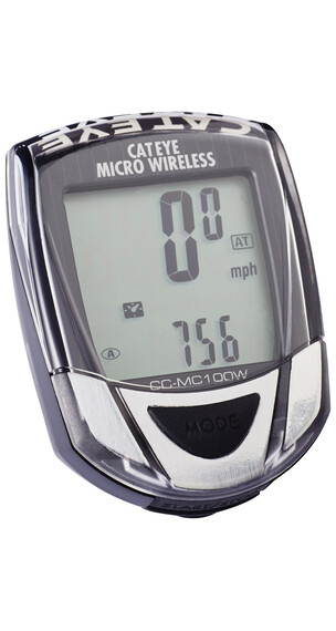 CatEye Micro Wireless CC-MC 100W schwarz/grau